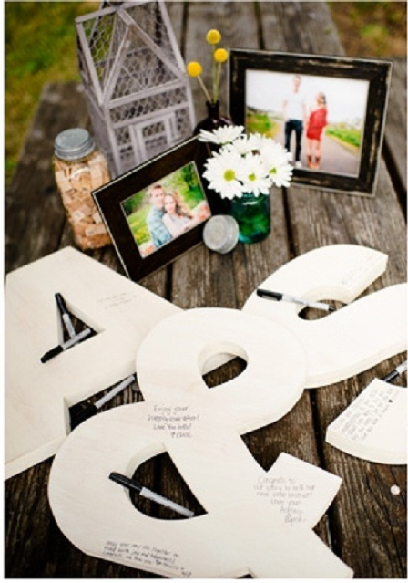 guestbook inc all 3 pieces 18 high wooden lettersmonogram